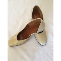 Zapatilla De Dama Color Beige Perla