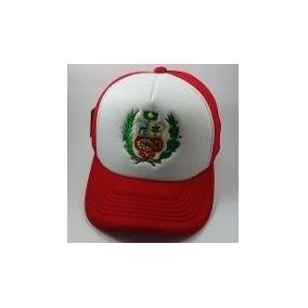 Gorras Escudo Peru Bordado O Sublimado Personalizados