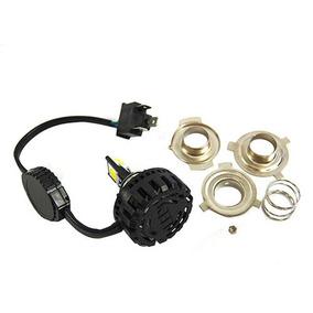 Lampada Farol Moto Led 6000k H4 12vx35x35 = Xenon 35288