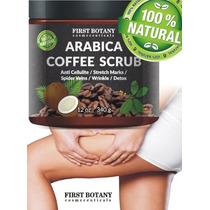 Arabica Coffe Scrub Con Cafe Organico Coco Vs Celulitis Y +