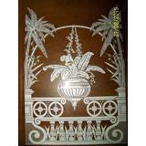 Vidro Pintado Relógio Antigo Ansonia 5 Modelos Reprodução