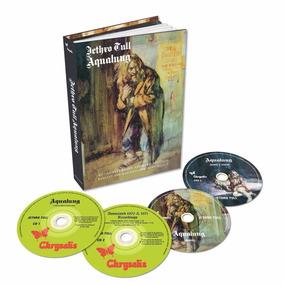 Jethro Tull Aqualung 2 Cd + 2 Dvd + Libro Nuevo Importado