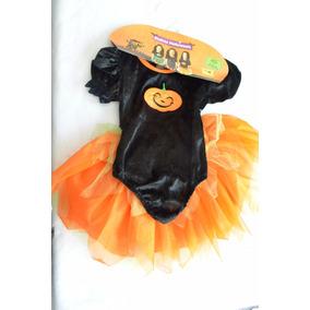 Disfraz Niña Brujita Halloween Muertos Talla 2 Leotardo Nara