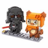 Darth Vader Ewok Star Wars Envío Gratis Miniblocks Armables