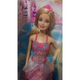 Hermosa Muñeca Barbie Princesa Mezcla Y Combina Mattel Roja