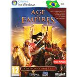 Age Of Empires 3 Estratégia + 2 Expanções Tudo Em Português