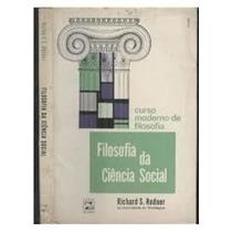 Filosofia Da Ciência Social - Curso Moderno De Filosofia