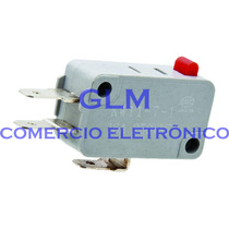 Chave Micro Switch Para Forno Microondas 16a 250v Ac 3 Term.