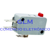Chave Micro Switch Forno Microondas 16a 250v Ac 3 Term. Cz
