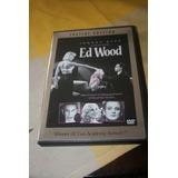 Dvd Ed Wood Tim Burton Edicion Especial