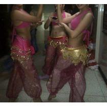 Traje De Danza Árabe Talla S Disfraz Para Halloween Y Carnav