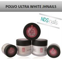 1 Oz Polvo Resina Blanco O Ultra White Jhnails