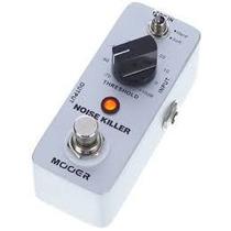 Pedal Mooer Noise Gate Noise Killer Supressor Guitarra Baixo