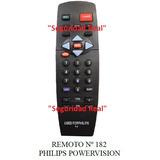 Control Remoto Tv Philips Powervision 182 Compre Original