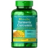 Turmeric Curcumina - Açafrão 180 Cápsulas - Tumérico Curcuma