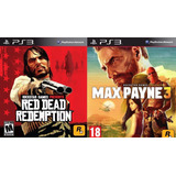 Max Payne 3 + Red Dead Redemption Ps3 || Stock Ya!