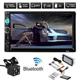 7 Doble 2din Coche Mp5 Mp3 Player Bluetooth Stereo Radio La