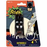Llavero De Goma Primer Batimovil De Batman Raro De Encontrar