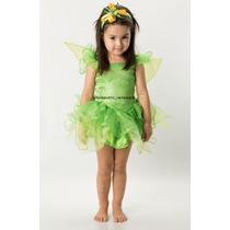Disfraz Para Niña De Princesa Disney Campanita Anaindy