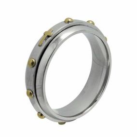 Aliança Em Aço Terço Giratório 6mm - Convex