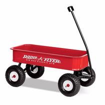 Radio Flyer Big Red Classic All-terrain Wagon