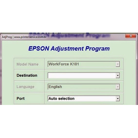 Reset Epson K101 Y Epson K301 100% Ilimitado