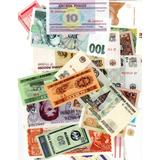 Coleccion De 100 Billetes Del Mundo, Sin Circular Oferta !!