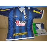 2 Camisas Original Botafogo Azul Fila Por 120 Frete Grátis