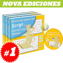 Ejercicios Para Aprender Letra Script Y Cursiva Preescolar