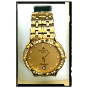 Reloj Appella Ultra Delgado, Elegante Con Maquinaria Precisa