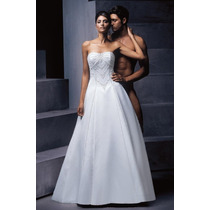 Vestido De Noiva By Zurc - Tam 38 - Pronta Entrega - Vn00031