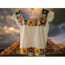 Blusas Tipicas Bordadas 100% Yucatecas Manejamos Mayoreo