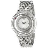 Venus Vfh Versace Femenina Redondo Acero Inoxidable Reloj D