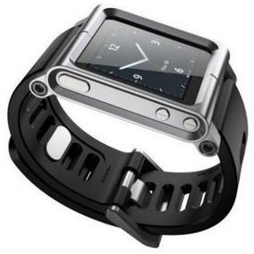 Pulseira Lunatik Para Usar Apple Ipod Nano 6ªg Como Relógio