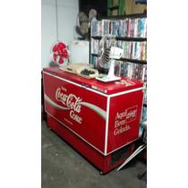Freezer Antigo Coca Cola Reubly 1983 Sem Restauro