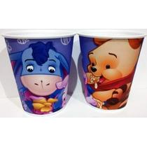Vasos Winnie Poh, Plasticos Descartables!!!