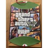 Piñata Personalizada Cumpleaños Cotillon Gta 5 Grand Theft