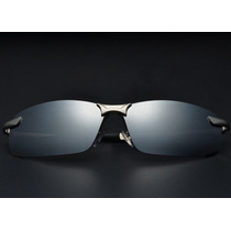 Oculos Polarizado Aviador Esportivo Espelhado Uv 400