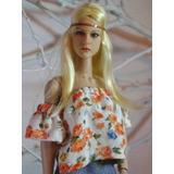 Clothe Hot Toys Kumik Phicen Cy Girl 1/6 Blusa Y Short