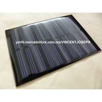 Celda Panel Solar Ahorrador Energia Luz 5v 160ma 0.8w Watts