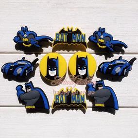 Combo 5 Pines Jibbitz 3d Batman Para Crocs (envio Gratis)