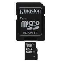 Kingston 8 Gb Microsdhc Clase 4 Memoria Flash Card Sdc4 / 8g