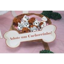 Chaveiro Mini Cachorrinhos De Pelúcia Festa Pet