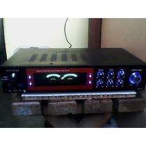 Amplificador, Planta Casera Con Ventilador ,100 % Original