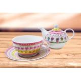 Tea For One - Juego De Tetera Y Taza Levysbazar