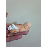 Kit 10 Bebezinhos Em Biscuit Para Lembrancinhas De Maternide