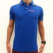 Camiseta Pólo Masculino Prada Azul