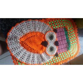 Conjunto Tapete Croche