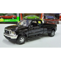1:32 Ford F350 Super Duty Fx4 1999 Negro New Ray Pick Up