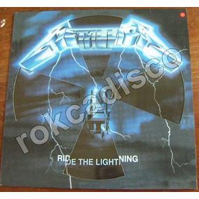 Heavy Metal, Metallica Ride The Lightning, Fotodisco 12´,